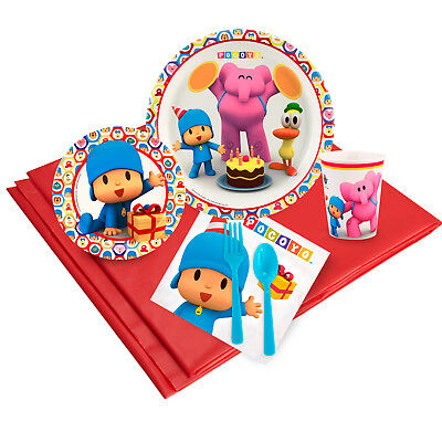 Pocoyo 16 Guest Party Pack