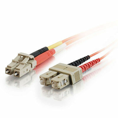 Cables to Go 10m LC/SC LSZH Duplex 50/125 Multimode Fibre Patch Cable - Orange