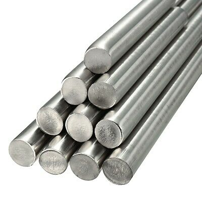 Stainless Steel 303 201 Dia 3-14mm Length 125mm-500mm Round Solid Metal Bar Rod