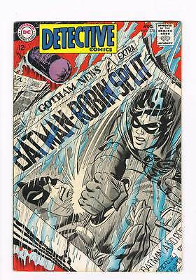 Detective Comics # 378 Batman! Drop Dead...Twice! grade 4.5 scarce book !!
