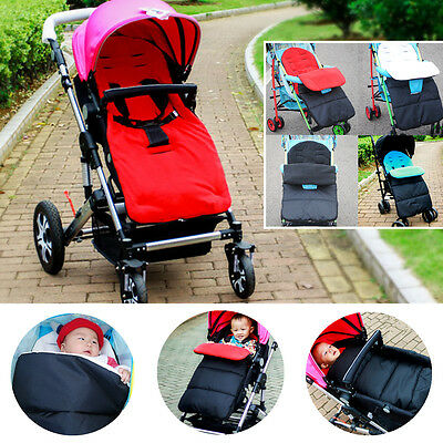 Warm Windproof Baby Stroller Pushchair Footmuffs Foot Cover Mat Sleeping Bag
