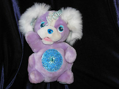 Vintage Secret Keepins Pups Kenner Puppy Dog Stuffed Animal Plush Keepin Purple