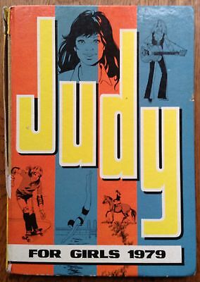 JUDY FOR GIRLS 1979 - Vintage Girls' Annual - Unclipped