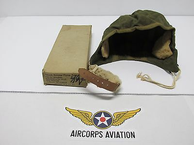 Band New in the Military Box, Type A-9 Summer Flying Helmet!!