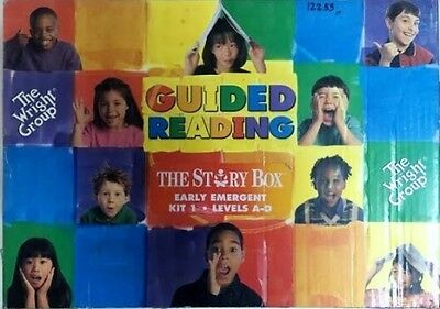 Wright Group The Story Box Guided Reading Kit 1 Early Emergent Levels A-D