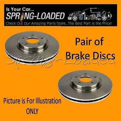 Front Brake Discs for Jaguar XJS 6.0 V12 -Year 9/1989-5/95