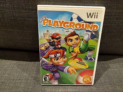 EA PLAYGROUND game for Nintendo Wii System ***FREE SHIPPING***
