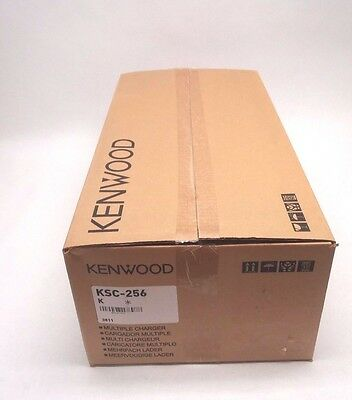 New Kenwood KSC-256 Rapid 6-Way Battery Charger / Charging Station