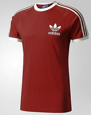 Adidas Originals Retro California 3 Stripes  Tshirt -Bnwt Size Medium  Last 2