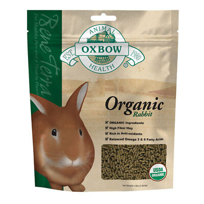 Oxbow Bene Terra Healthy Pet Organic Rabbit Food 3Lbs