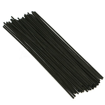50-200X Black 250mm Replacement Refill Reed Oil Fragrance Diffuser Sticks Rattan