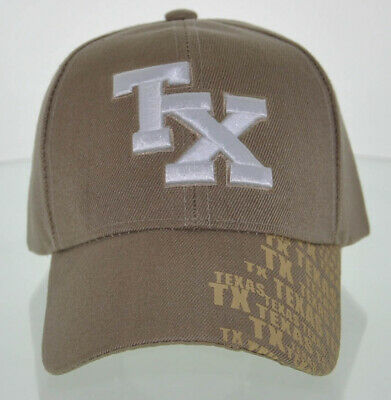 NEW TEXAS TX LONE STAR STATE SIDE PRINT CAP HAT BLACK
