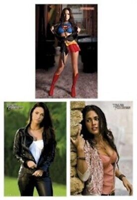 MEGAN FOX ~ 3 POSTER SET Superfox Pink Leather NEW/ROLLED!