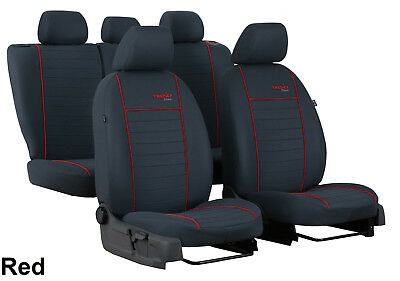 Volkswagen Up! 2011 Onwards Strong Fabric Tailored Seat Covers Made To Measure