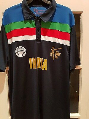 India Icc Cricket World Cup 2015 Shirt