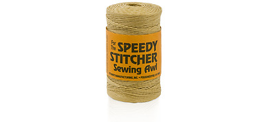Speedy Stitcher Sewing Awl - 180 Yards Fine Waxed Polyester Thread 170