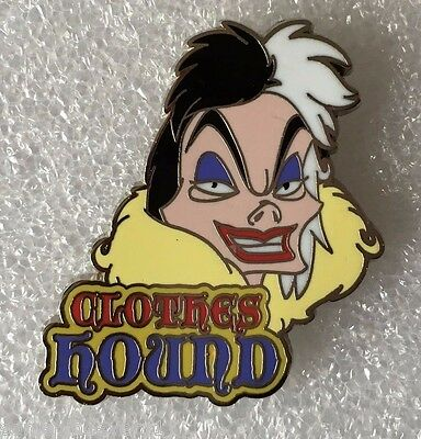 Disney Pin - Villains Attributes Mystery Collection Cruella De Vil Only