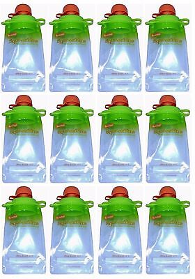 Booginhead Squeez'Ems Reusable Food Pouches CHOOSE YOUR PACK Buy2Get15%Off