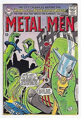 Metal Men #13 (Apr-May 1965, DC) 8.5 VF+ white pages
