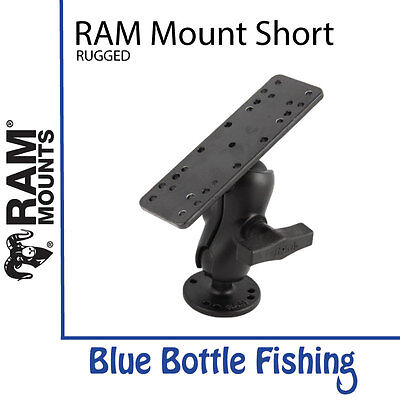 RAM Mounts Short  Rugged C-Ball For Lowrance HDS 7,9 Elite 9Ti and Hook 9