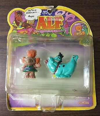 Alf Collectible Figures Augie With The Family Dog NEEP MOC 1987 COLECO
