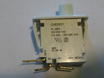 Cherry E69 Safety interlock dryer door Switch micro microswitch pushbutton