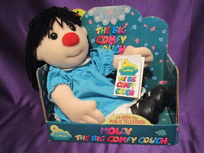 """BIG COMFY COUCH MOLLY DOLL PLUSH 1997 18"""" in BOX commonwealth toy"""