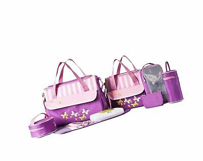 SOHO Collections 10 Pieces Diaper Bag SetLimited time offer (Butterflies Mead...