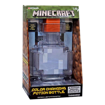Minecraft - Colour Changing Potion Bottle - Loot - BRAND NEW