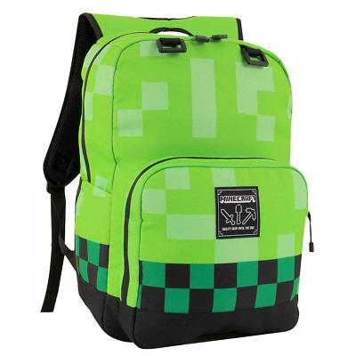 Minecraft - Creeper Backpack - Loot - BRAND NEW