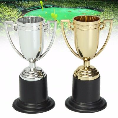 1/ 5/ 10/ 20X Mini Trophy Football Game Champion Cup Award 10cm Child Party Toy
