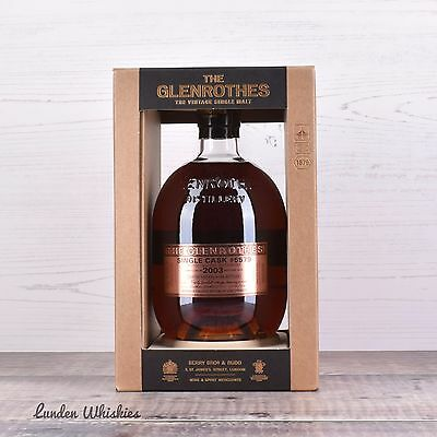 2003 Glenrothes Single Cask #5579 13YO Cask Strength Single Malt Whisky Ltd Ed.