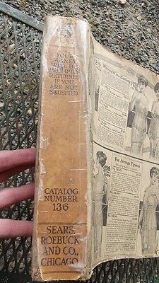 1918 Sears Roebuck and co. Chicago  Catalog Number 136 - missing cover