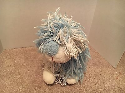 Vintage Kenner  Fluppy  Dog Blue Stuffed Plush
