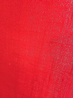 Genuine Stunning Vintage Retro 1950s 1960s Beautiful Red Fabric £10 THE LOT!!!!!
