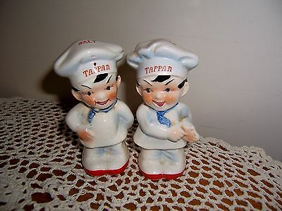 Vintage Tappan Range Little Chef Salt & Pepper Shakers