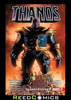 THANOS VOLUME 1 THANOS RETURNS GRAPHIC NOVEL Paperback Collects (2016) #1-6