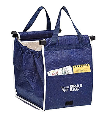 """Insulated Groceries Bag Shopping Tote Grab Carry Bag 40 lbs 12"""" H X 13"""" X 10"""" ."""