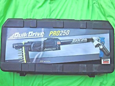 Simpson Strong Tie Quikdrive Pro250 Makita Kit Brand New, Complete Pro250G2M25K