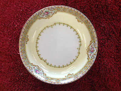 """Meito China Annette Pattern Made in Japan Fruit Ice Cream Bowls 51/4"""" Perfect"""