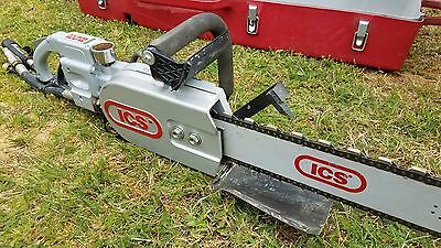 """ICS Concrete Chainsaw Model 853 With 19"""" Bar and New Chain"""