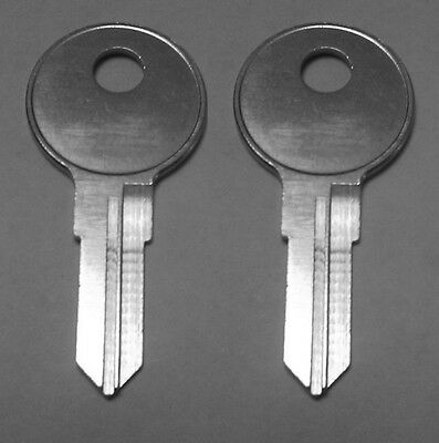 2 Matco Tool Box Replacement Keys Pre Cut To Your Key