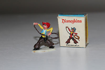 Vintage PECOS BILL Elegant Miniatures DISNEYKINS ** 60's Marx Toys RARE with BOX