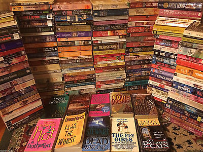 WHOLESALE BOOKS 1000ct Romance Action Horror Syfy Passion Suspense Desire Love