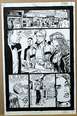 THE FLASH Iron Heights Page 46 ORIGINAL COMIC ART by Ethan Van Sciver