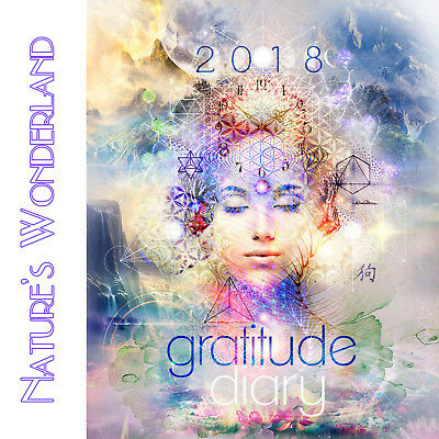 GRATITUDE DIARY & Daily Planner - 2018 Ed - Mind, Body, Spirit by Melanie Spears