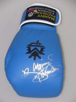 MANNY PACQUIAO Hand Signed Boxing Glove 2