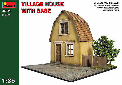 Village house with base     1/35 MiniArt   # 36031