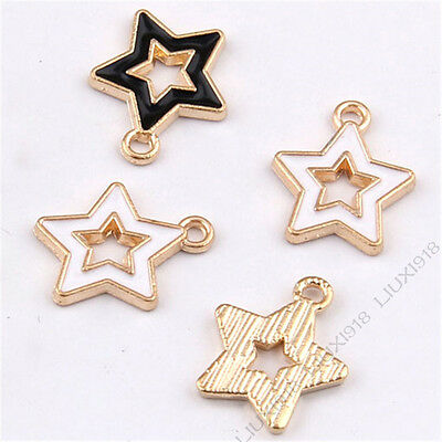 Enamel Charms Cat Animal Pendant Jewelry Making Small Pendants Wholesale 986Y