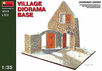 Village diorama base    1/35 MiniArt   # 36015